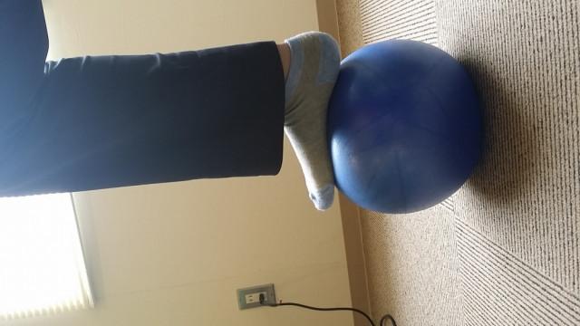 石岡 捻挫の防止のトレーニング